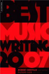 Best Music Writing 2007 cover